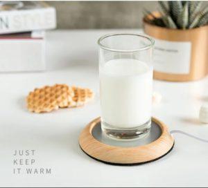 木質加熱杯墊