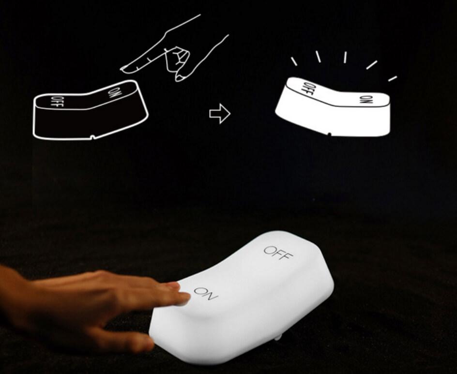 超推薦8款創意小夜燈-MUID重力感應開關燈