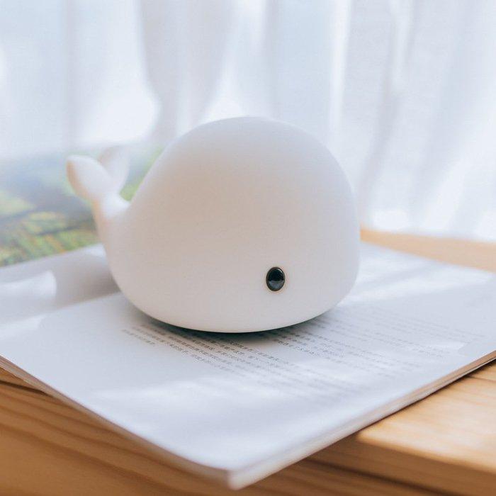 超推薦8款創意小夜燈-小鯨魚拍拍燈