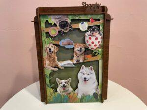 木製存錢筒